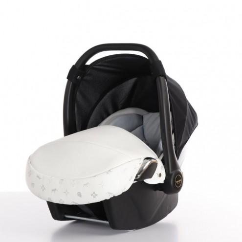 Автокресло Tako Laret Imperial (ткань/кожа), ATLI-01 белый